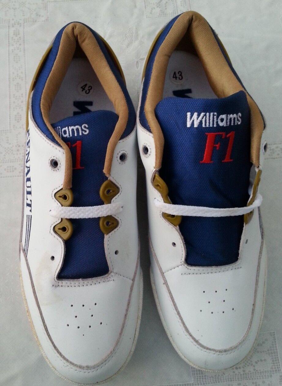 Schuhe Williams Renault Gr. Gr. Gr. 43 ungetragen sehr guter