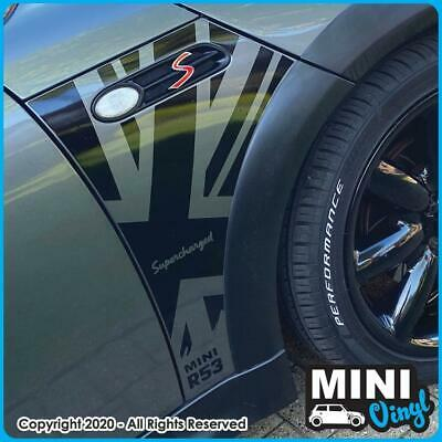 Graphics Vinyl Union Jack Sticker Fit For BMW Mini MG 3 MG 6 British Flag Decal