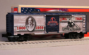 LIONEL 115th ANNIVERSARY BOXCAR o gauge train MADE IN USA 6-82992 NEW