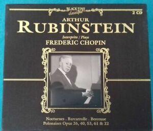 2-CD-Klassiker-Arthur-Rubinstein-Performer-Fryderyk-Chopin-Ref-Co-39