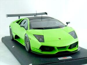 1 18 Mr Lamborghini Murcielago Lp670 R Sv Ithaca Verde Green Ltd