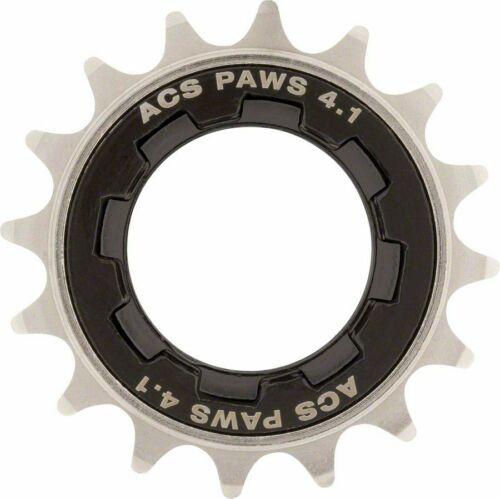 ACS PAW 4.1 SINGLE SPEED FREEWHEEL 1//8 BMX SPROCKET COG 3//32