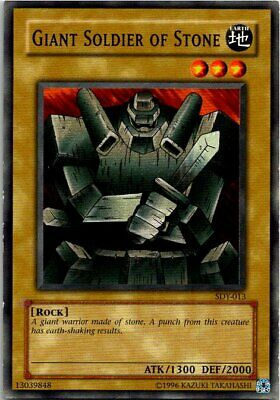 Giant Soldier Of Stone SDY-013 Yu-Gi-Oh Card Light Play