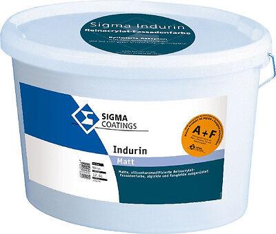 Sigma Indurin A&f Matt 12,5 Liter U Pilzbefall Schutz Gegen Algen
