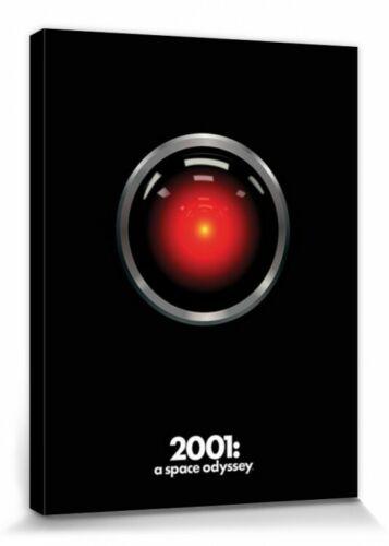 2001: Odyssee Im Weltraum #107010 Hal Poster Leinwand-Druck Bild 80x60cm