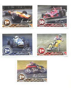 New Zealand Motorsport Champions Cars Motorcycles Mnh 3116 20 Ebay