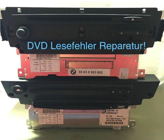 BMW Navi DVD Erreur de lecture Réparation CCC e60 e90 e70 e87 et autres