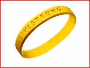 LIVESTRONG-LIVE-STRONG-100-AUTHENTIC-BRACELET-NEW-Support-Cancer