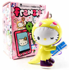 Tokidoki x Hello Kitty Frenzies KAIJU DINOSAUR Zipper Pull Keychain Phone Strap