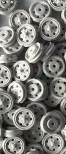 C14 roue pour Excavateurs chars téléphérique Pièces Détachées Roues 1:87 20 pièces gris clair h0
