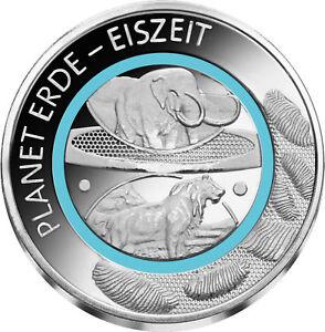 Erde-Geschichte-Eiszeit-Sonderausgabe-Kupfer-Silber-plattiert