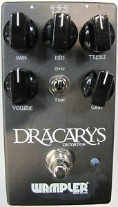 Used Wampler Dracarys Distortion Overdrive Guitar Effects Pedal