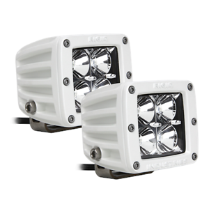 ALL MAKES AND MODELS RIGID 2 FLOOD LENS MARINE DUALLY  LED LIGHT..