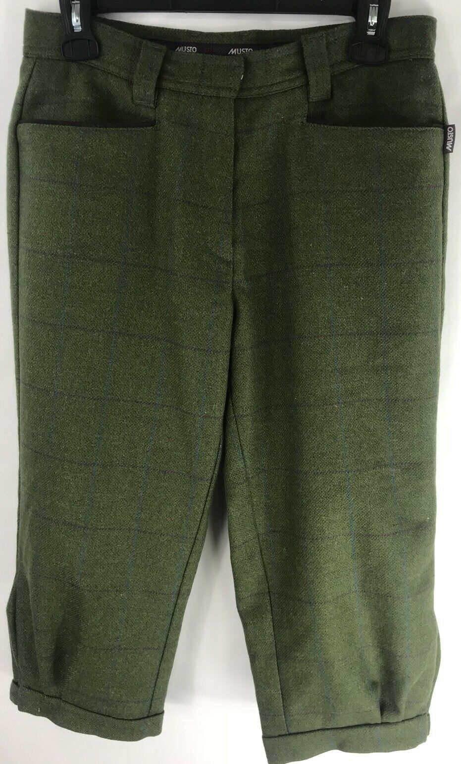 Musto Stretch Tech Tweed Breeks size 6 Euro 38 No 95% Pure New Wool 5% Nylon