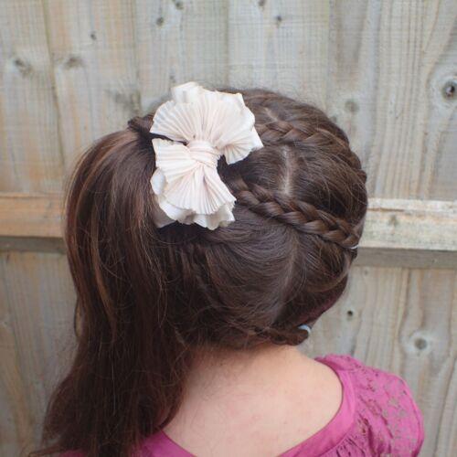 BOWS BOUTIQUE HAIR PIN ALLIGATOR SATIN BOW HAIR CLIP TODDLER SMALL HAIR BOW CLIP