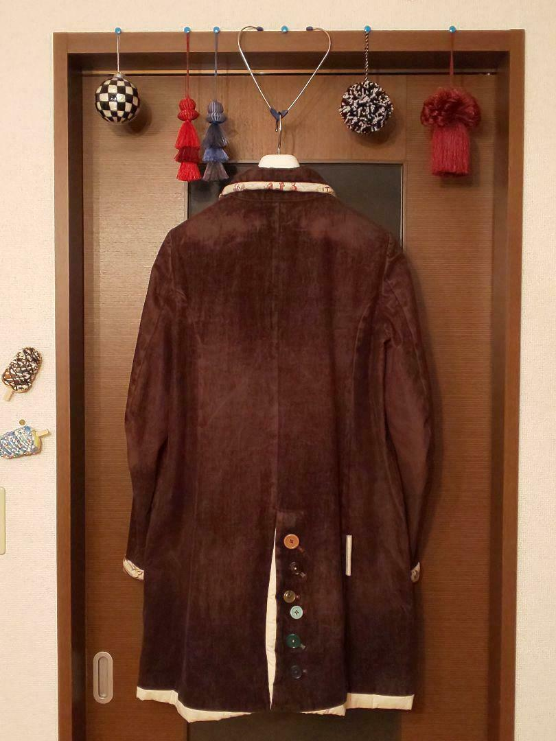 UNDERCOVER but beautiful Button Coat size M Brown… - image 6