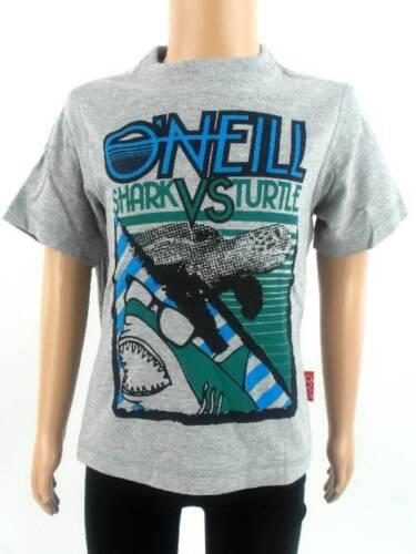 O/'Neill T-Shirt Shirt Kurzarmshirt Ship-Trap grau Print Tiere