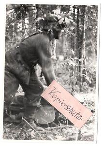 WW-2-Russland-Feldzug-1942-22-08-42-Kampf-im-Wald-Kolodesi-II-Pz-Gren-Rgt-40