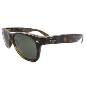 56d9e1745e Ray-Ban Sunglasses New Wayfarer 2132 902/58 Tortoise Green Polarized ...