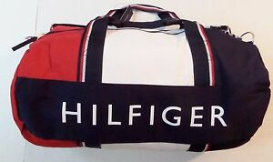 Image is loading Tommy-Hilfiger-Travel-Duffle-Bag-Large