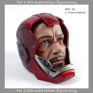 Hot Toys MMS213 Iron man 3 Mark XXXIII 33 Silver Centurion 1//6 Normal Ready