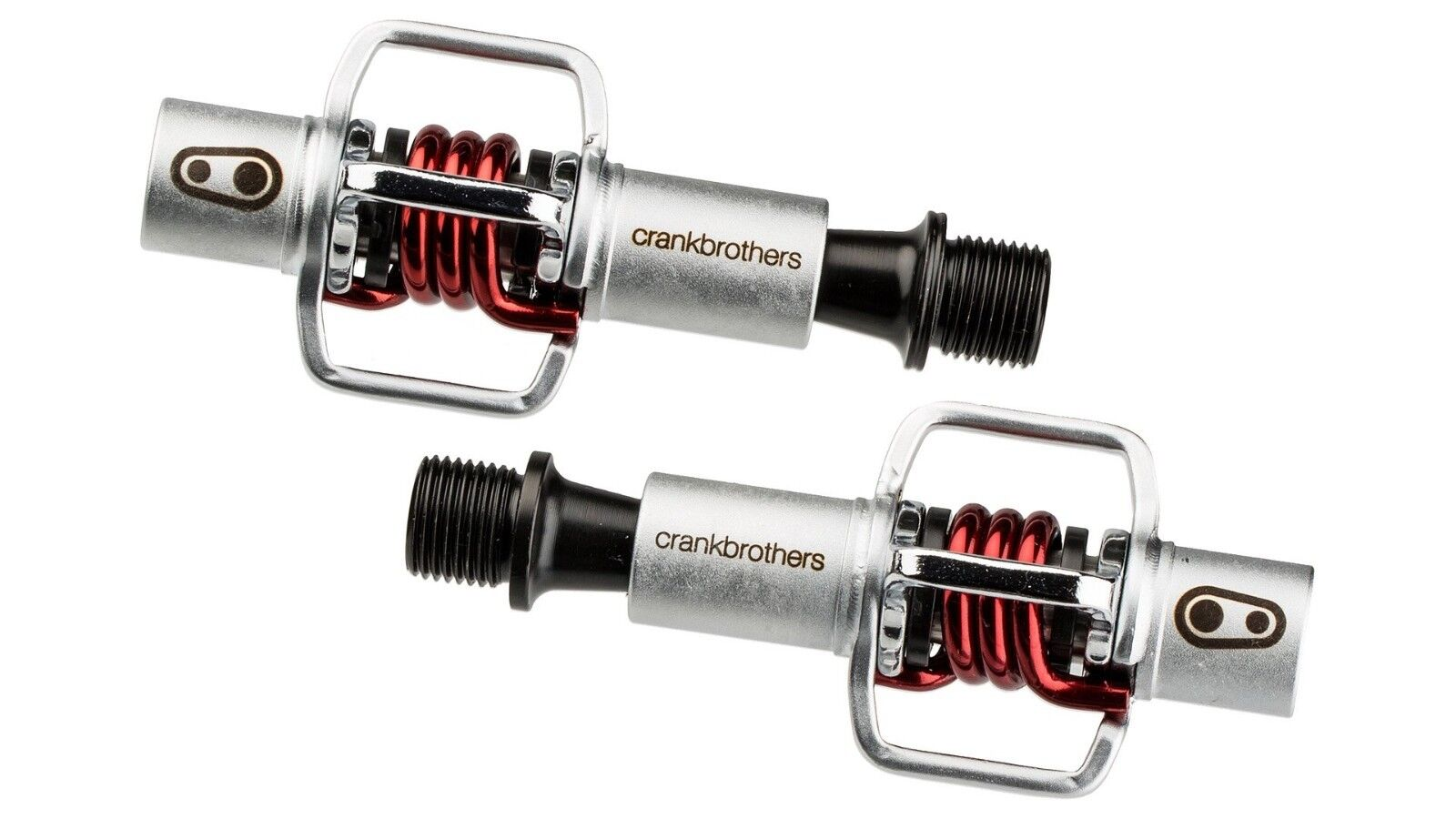 Pedali CRANK BROTHERS Mod.EGGBEATER 1 ROT + Tacchette/PEDALS CRANK BROTHERS EGG