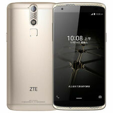 New 5.2'' ZTE Axon Mini 32GB, RAM 3GB Dual SIM Gold Factory Unlocked - B2016