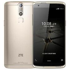 New 5.2'' ZTE Axon Mini 32GB, RAM 3GB Dual SIM Gold Factory Unlocked - B2016