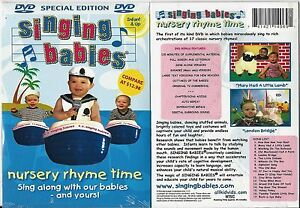 Image Is Loading Singing Babies Nursery Rhyme Time Dvd Sing Along