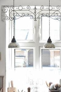 Jeanne-D-039-Arc-Living-Fensterfries-Iron-Fries-Shabby-Chic-Vintage-102-CM