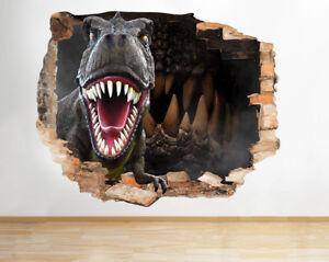 F188-T-Rex-fresca-muchacho-de-los-dien-pegatina-pared-vinilo-3d-habitacion-ninos