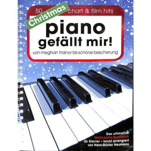 Piano gefällt mir CHRISTMAS Heumann Noten Weihnachten Klavier BOE7777 NEU!!