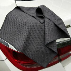 Auto-Care-Microfiber-Drying-Towel-with-Waffle-Weave-Design-for-Car-Bath-Kitchen