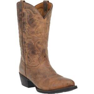 Laredo-Birchwood-68452-Men-039-s-Tan-Leather-12-034-Western-Boots