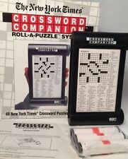 The New York Time CROSSWORD COMPANION 48 Puzzles Roll A Puzzles Herbko New