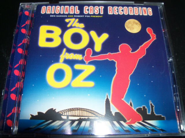 The Boy From OZ Original Cast Recording Soundtrack CD Todd Mckenny