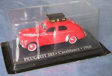 Taxi du monde Altaya 1/43 Peugeot 203 Casablanca 1960 Neuf sous blister