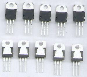 10-x-FESTSPANNUNGSREGLER-7805-TO220-5V-1A-TOP