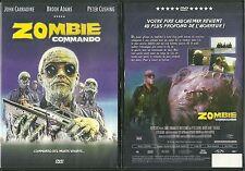 RARE / DVD - ZOMBIE COMMANDO avec JOHN CARRADINE, BROOK ADAMS ( HORREUR )