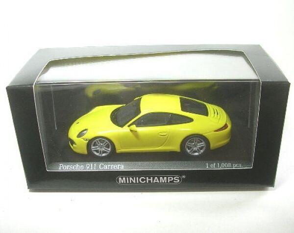 Porsche 911 Carrera (racinggelb) 2012   1 43  | Um Sowohl Die Qualität Der Zähigkeit Und Härte