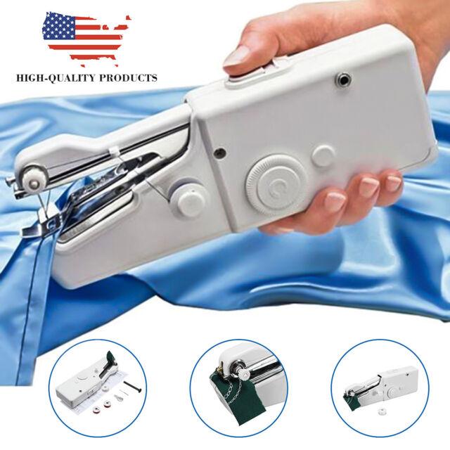 Mini Portable Smart Electric Tailor Stitch Handheld Sewing Machine Classy Portable Mini Electric Handheld Sewing Machine