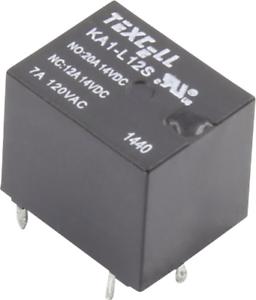 Texcell KA1-L12S Printrelais 12 V//DC 25A 1 Wechsler