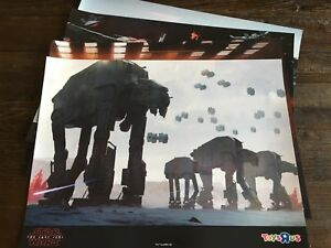 4b8a614520ac Star Wars The Last Jedi Poster Set (Set of 4) – Exclusive Toys R Us ...