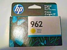Genuine HP 962 Yellow Ink Cartridge 3hz98an Exp Feb 2021