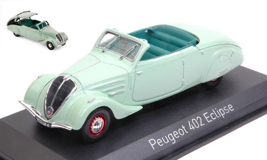 Peugeot 402 Eclipse 1937 Light Green 1 43 Model NOREV
