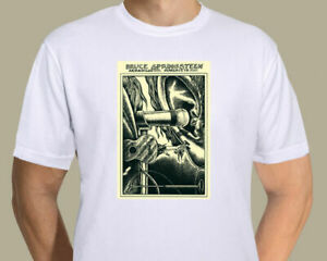 Bruce Springsteen - Austin 1974 concert poster -shirt