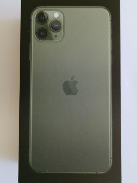 Boite vide originale pour Iphone 11 Pro Max 64Go Midnight Green