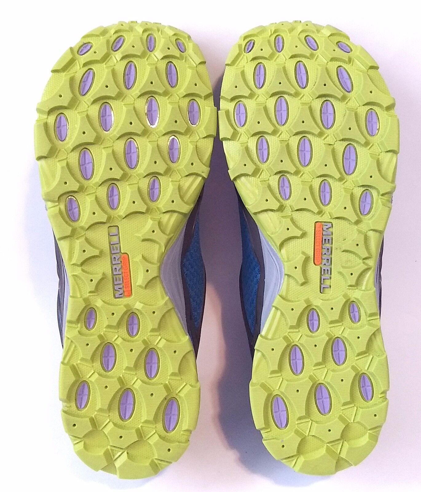 Merrell greenerra bluee Lime Womens Size 7 7 7 Sneakers