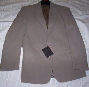 wholesale dealer c9e03 b8de3 Dettagli su GIACCA OXON in panno da Uomo Invernale Tortora Tg:48