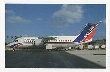 LAN Chile BAE 146-200A Aviation Postcard, A650
